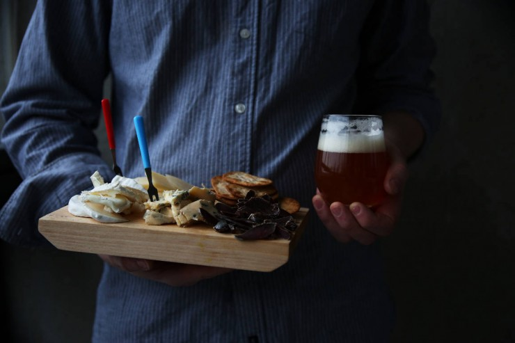Cheeses with Lura, the Finnish-Italian beer