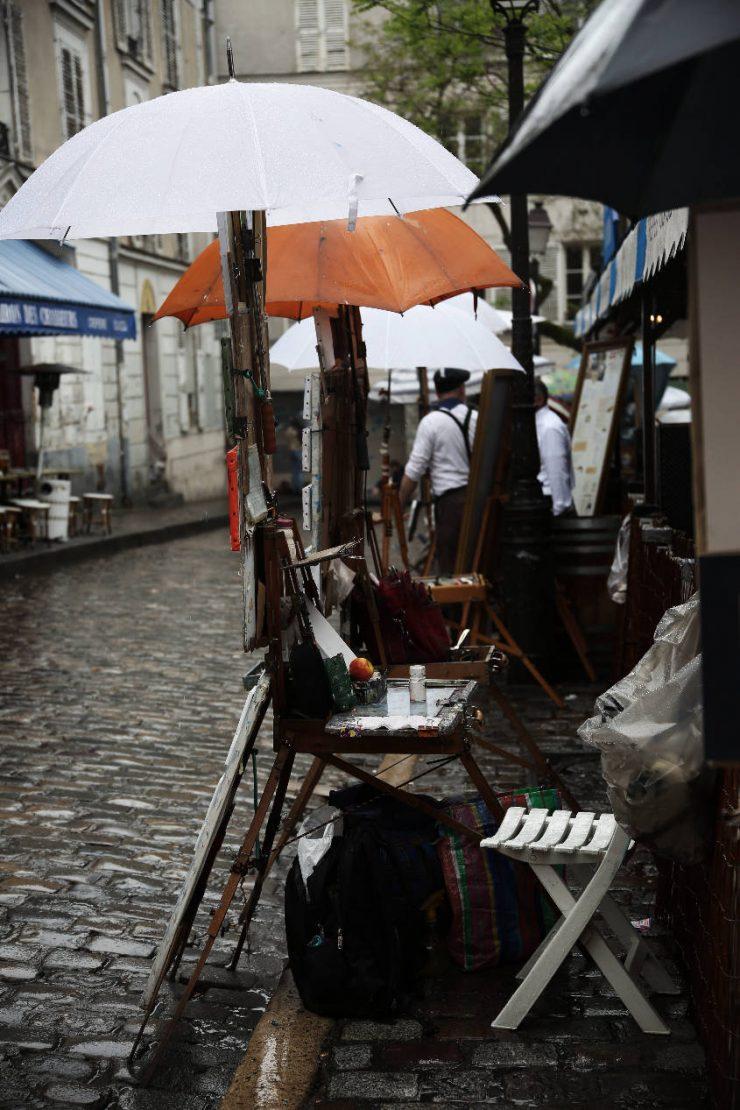 Finding the spirit of Paris - a mini guide | Due fili d'erba | Two blades of grass | Thais FK | Montmartre