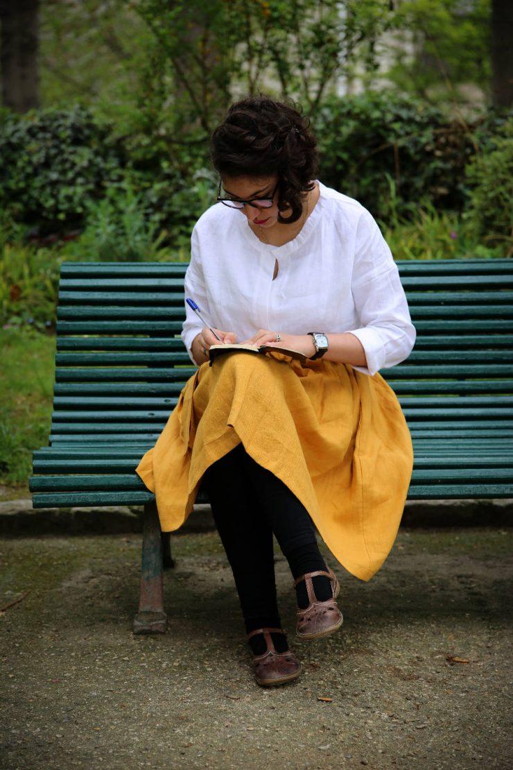 Finding the spirit of Paris - a mini guide | Due fili d'erba | Two blades of grass | Thais FK | Linen Skirt | Linen Shirt | 220linen
