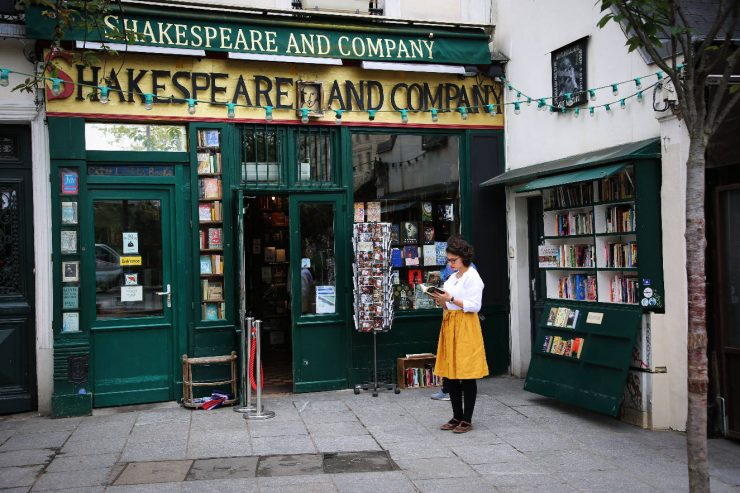 Finding the spirit of Paris - a mini guide | Due fili d'erba | Two blades of grass | Thais FK | Shakespeare&Company