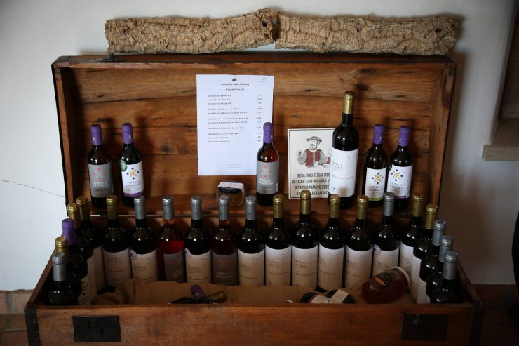 Wines of A serenada enoturismo, wine tourism in Portugal | Read the full review on Due fili d'erba | Two blades of grass | Thais FK