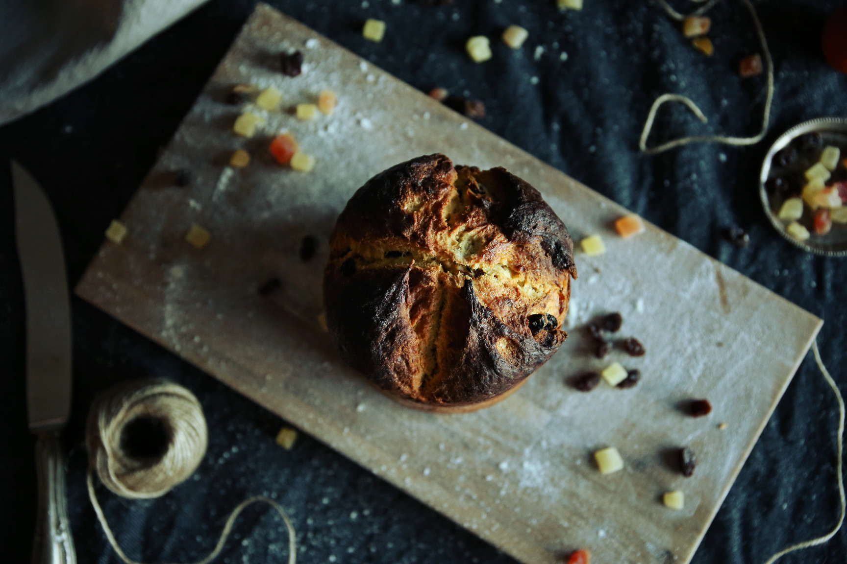 The story of a panettone made from scratch | on Due fili d'erba | Two blades of grass | by Thais FK