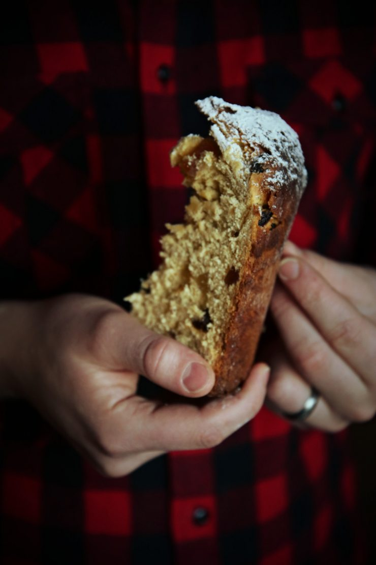 The story of a panettone made from scratch   on Due fili d'erba   Two blades of grass   by Thais FK