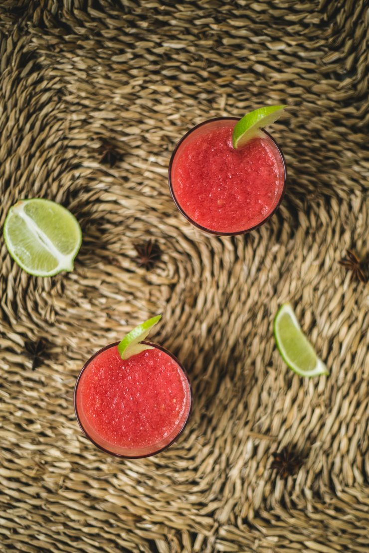 Watermelon tonic | Summer cold drink | Recipe and photos by Thais FK | on Due fili d'erba | Two Blades of Grass