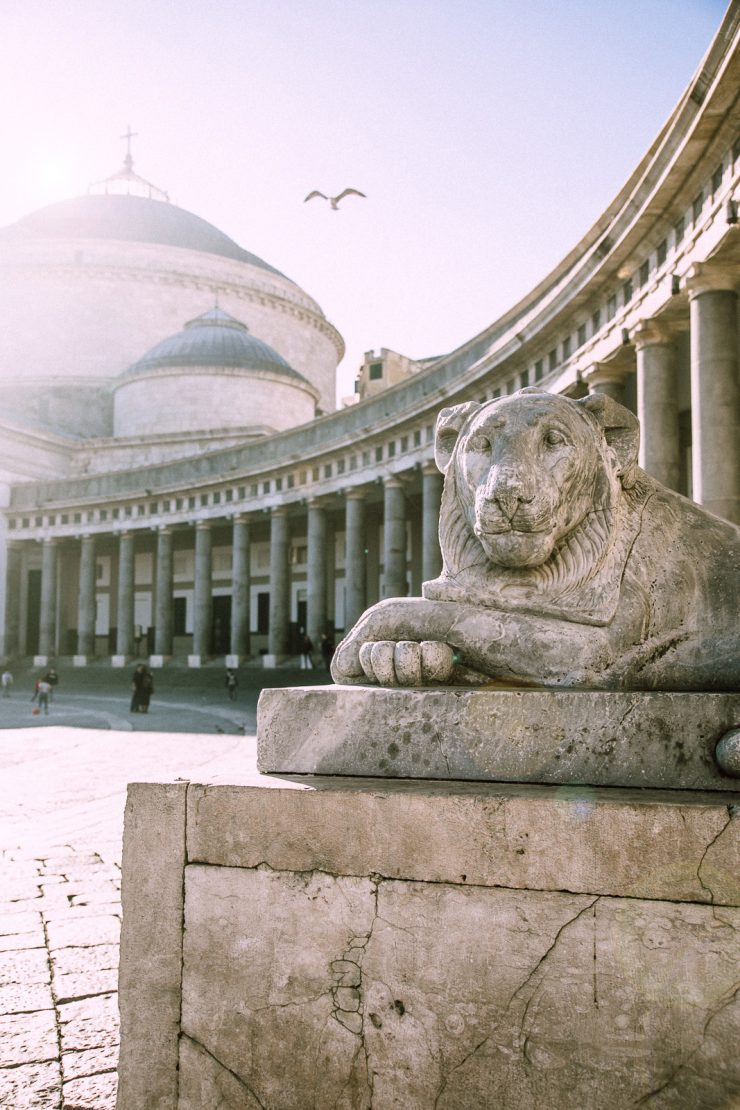 Piazza Plebiscito | Naples, a mini guide | on Due fili d'erba | Two blades of grass | Text and photos by Thais FK