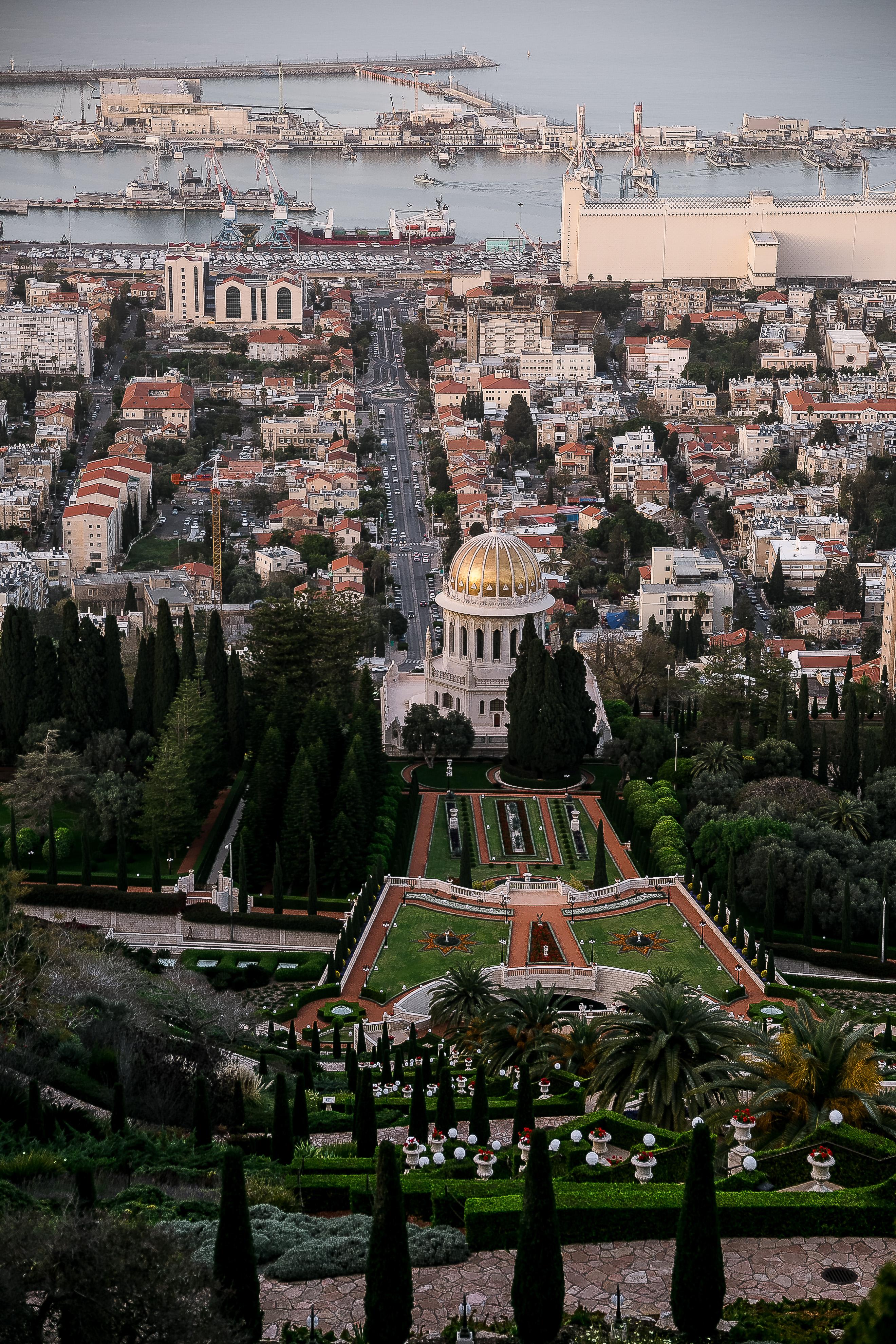 Baha'i Gardens | Visit Israel: Haifa mini guide | on Due fili d'erba | by Thais FK & Klaus K.