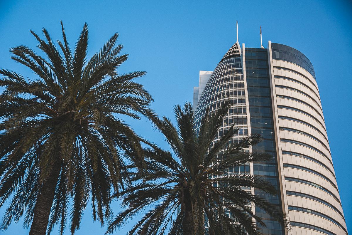 Sail Tower, Haifa | Visit Israel: Haifa mini guide | on Due fili d'erba | by Thais FK & Klaus K.