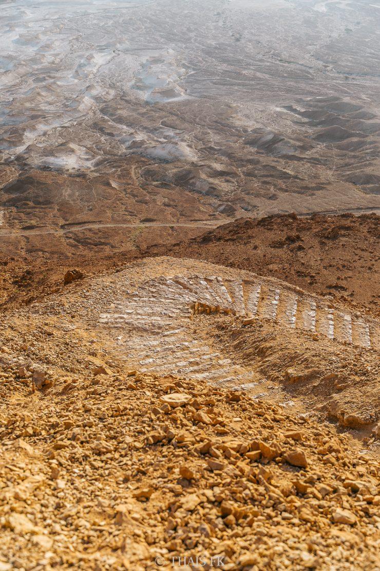 Masada sunrise, Eing Gedi & Dead Sea Tour by Tourist Israel | on Due fili d'erba | Two blades of Grass | Photos by Thais FK & Klaus K.