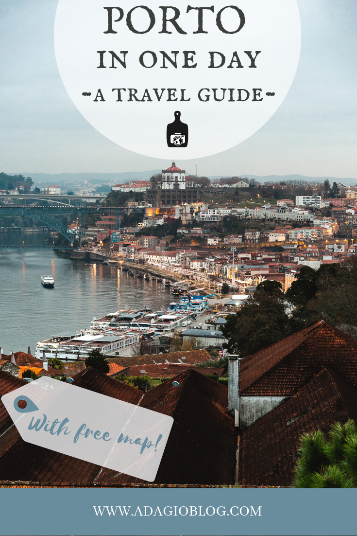 Porto, Portugal in one day - A Travel Guide on The Adagio Blog, by Thais FK
