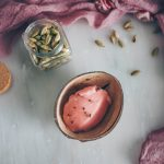 Vegan Rhubarb Sorbet Recipe on The Adagio Blog | Ice cream maker | Thais FK X Smeg Nordic