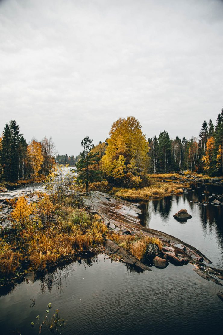 Koitelinkoski - Visit Finland in Autumn - The Adagio Blog by Thais FK