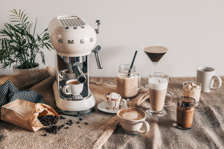 The Guide to Italian Coffee created for Smeg Nordic | on The Adagio Blog by Thais FK