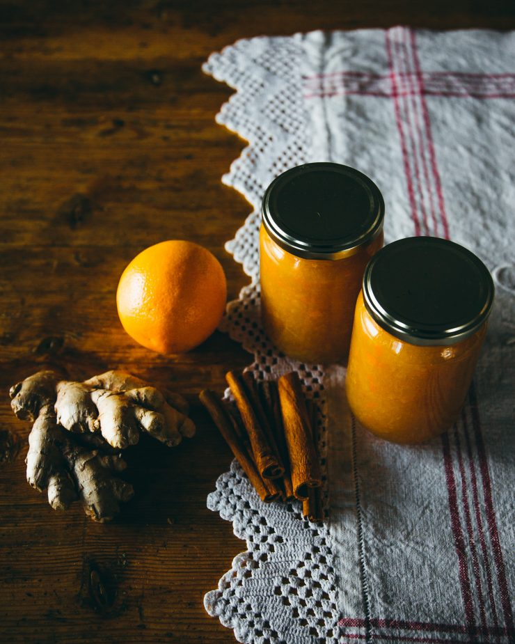 Ginger Orange Marmalade on The Adagio Blog by Thais FK