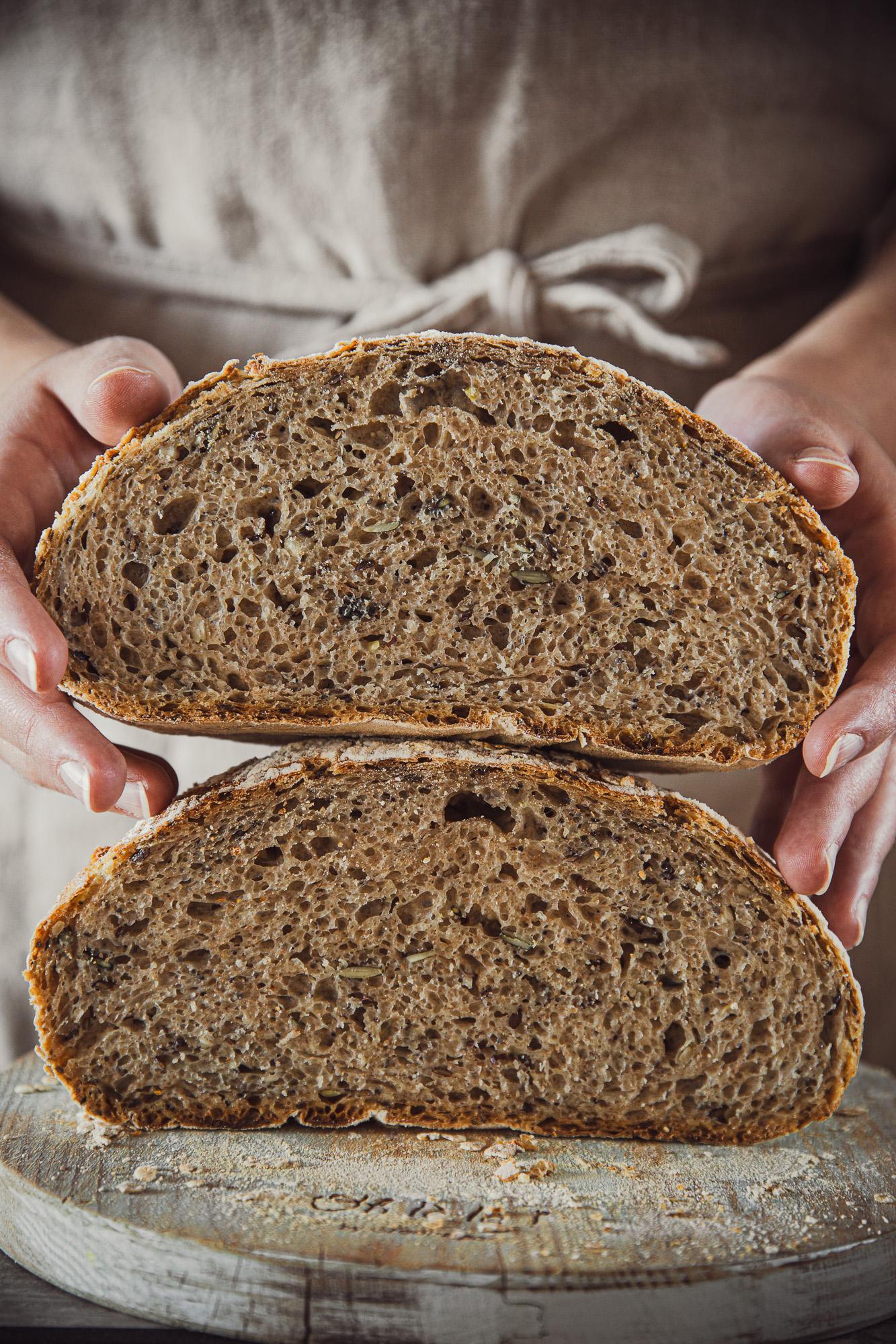 Effortless Sourdough Bread by Thais FK | The Adagio Blog