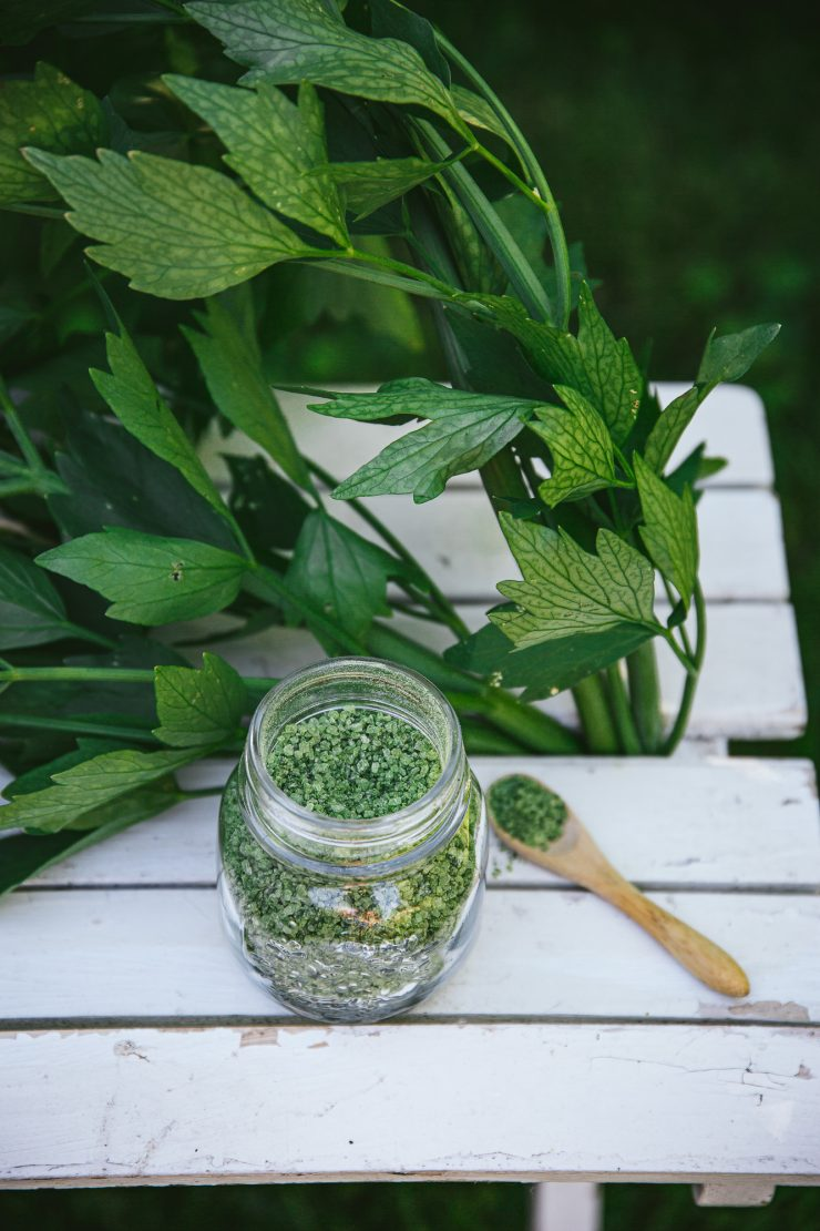 Lovage Salt: the secret to elevate your homemade meals to a gourmet experience - The Adagio Blog