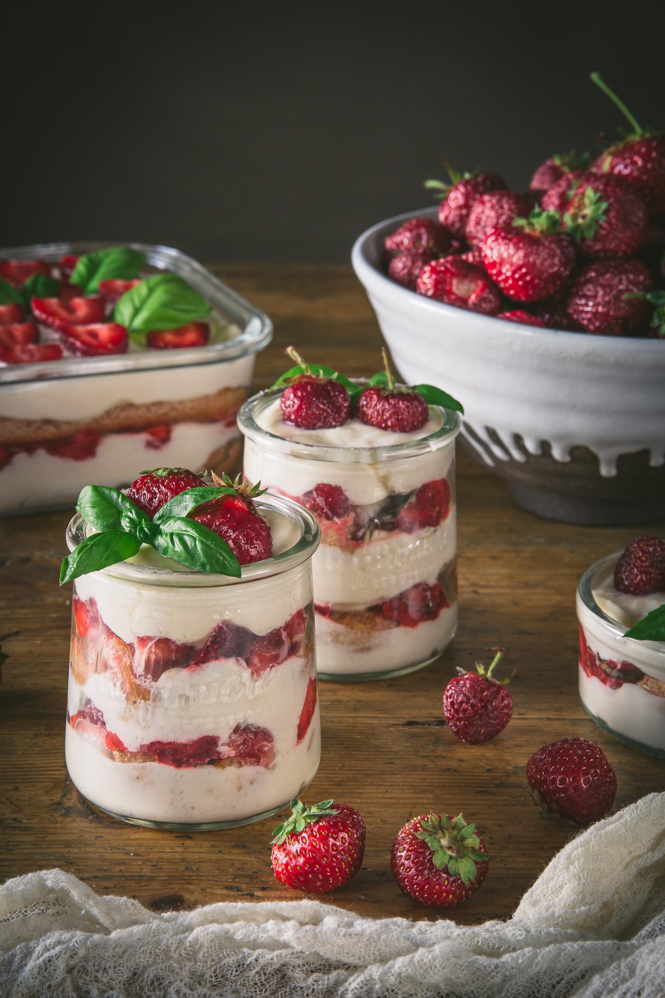 Strawberry Tiramisù - Adagio Blog