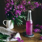 Fireweed Syrup - Nordic Foraging on The Adagio Blog by Thais FK