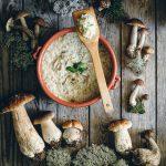 Wild Mushroom Risotto - Nordic Foraging - The Adagio Blog