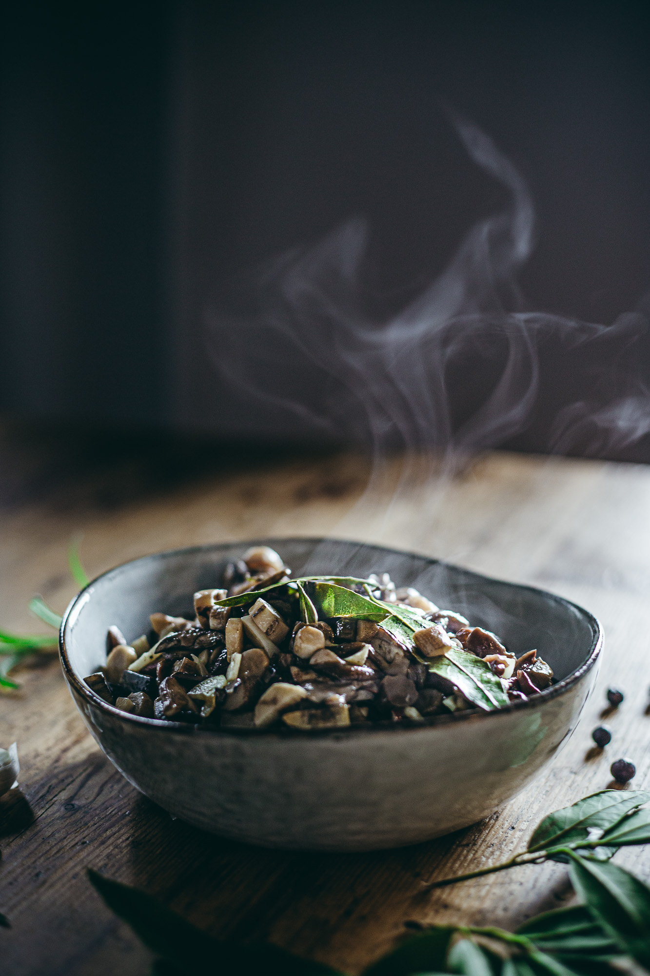 Pickled mushrooms in olive oil - Nordic Foraging - The Adagio Blog
